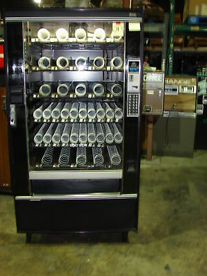 National 145 / Crane 145 Candy, Chips, 5 Wide  Snack Machine #213