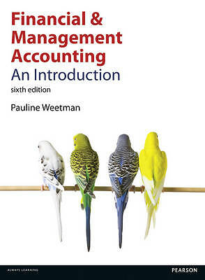 Financial and Management Accounting: An Introduction, Good Condition Book, Weetm