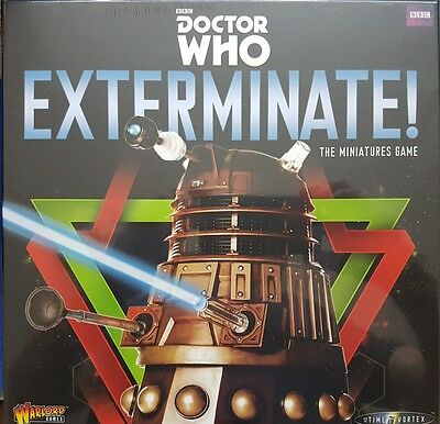 Dr Who Exterminate game - BBC - Warlord Games