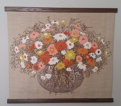 Mid Century Wall Hanging by Tom Tru Corporation - Rare Item