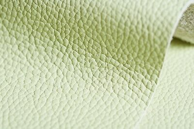 Premium Grain Italian Leather Lime Pieces Made In Italy Craft
