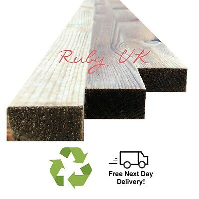 "2"" x 1"" (50mm x 22mm) Pressure Treated Timber Boards - Various Lengths"