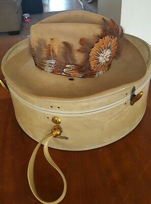 Collectible Beautiful Vintage Billy the Kid by Stetson Cowboy Hat. Size 71/4.
