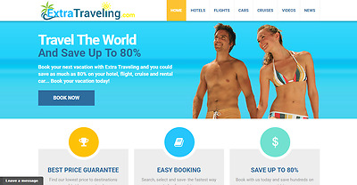 Established Profitable TRAVEL Search & BOOKING Turnkey BUSINESS Website For Sale