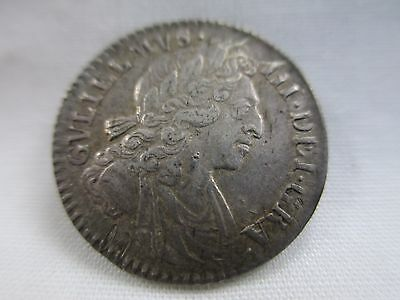 Great Britain 1699 Silver 4 Pence- Groat- William The 3rd- No Reserve