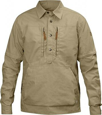 Fjallraven Anorak Shirt No.1 - Colour: Sand - Various SIzes Available - G1000