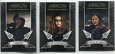 Arrow Season 2 Complete Archers Chase Card Set A1-3