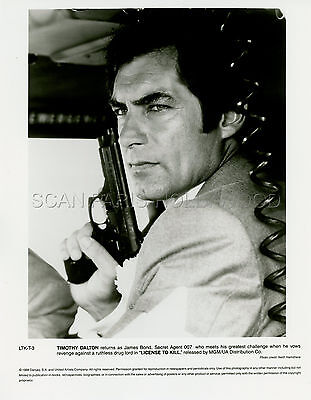 James Bond 007 Timothy Dalton  Licence To Kill 1989 10 Photos Original Lot