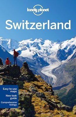 Lonely Planet Switzerland (Travel Guide), Good Condition Book, Simonis, O'Brien,