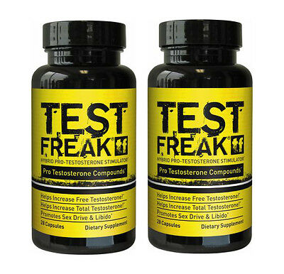 Pharma Freak Test Freak 56 Caps Hybrid Anabolic Pro-Tesosterone Stimulator Boost