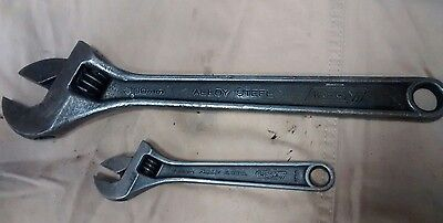 "Irega 12"" & 6"" Adjustable Spanners"