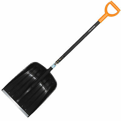 Fiskars Premium Leaf, Rubbish & Snow Shovel 1.3m