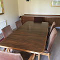 Rosewood Retro Dining Table by Robert Heritage for Archie Shine Vintage 1960's