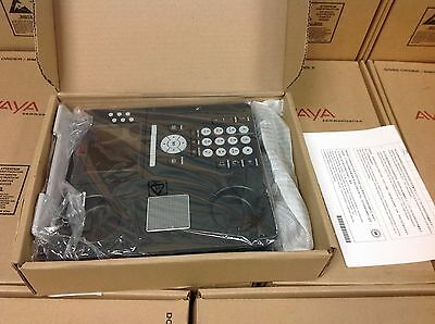 Avaya 9640 700438856 Ip Phone Gray W/ Display, New Open Box