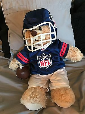 Build a Bear with NFL outfit and football