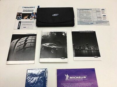 Ford Mustang 2014 Owners Manual Books In Case Oem