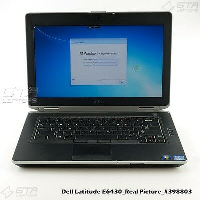 "Dell Latitude E6430 Laptop i5-3340M 2.7GHz 3GB RAM 500GB HDD 14"" Win7 (#398803)"