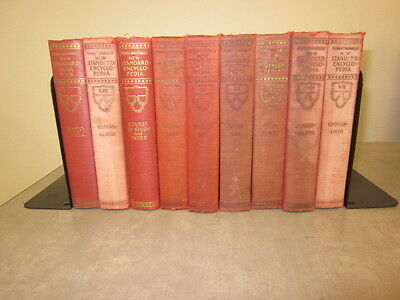 Mixed Lot of Red Antique Decorator Books Ships Free