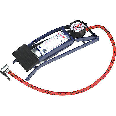 Sealey Single Cylinder Foot Pump