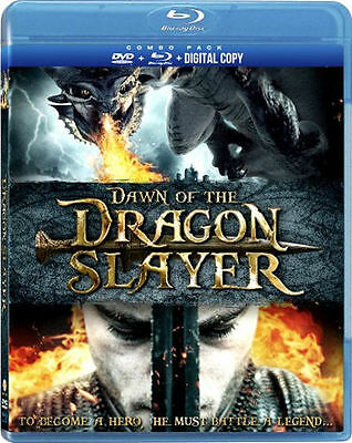 Dawn of the Dragonslayer (Blu-ray/DVD, 2012, 2-Disc Set) * NEW *