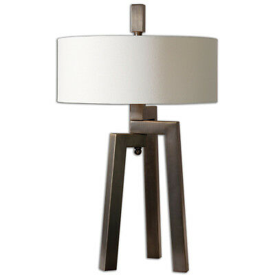Uttermost 26568 1 Mondovi 30 Inch 60 Watt Table Lamp Portable Light