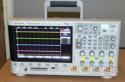 Keysight MSOX3104A Mixed Signal Oscilloscope, 1GHz, 4+16 Channel, Cal'ed, NICE