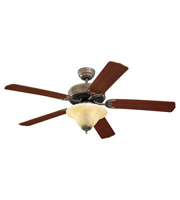 Monte Carlo Fan Company 5HS52TBS-L Homeowners Deluxe Indoor Ceiling Fan