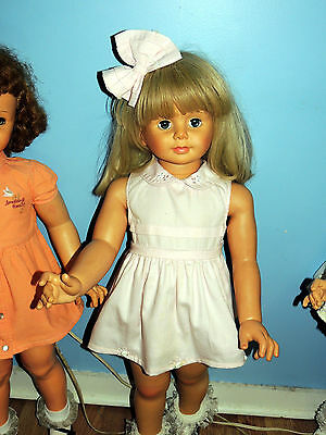 Pretty Pale Pink Polished Cotton Dress For  Patti Play Pal & Similar Dolls