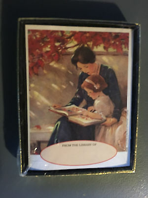 Vintage Antioch Publishing Antique Book Plates New In Plastic