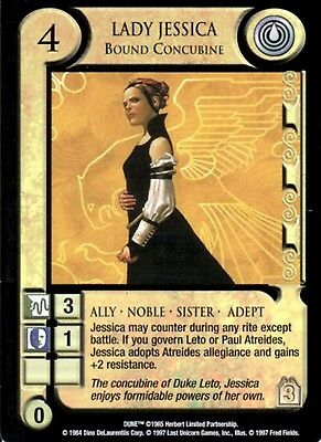 Lady Jessica Dune CCG Eye of the Storm, Rare, Unplayed Mint