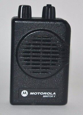 Motorola Minitor V  Low Band (33-36.9MHz)  2 chl SV pager w/ chgr , A01KMS9239BC
