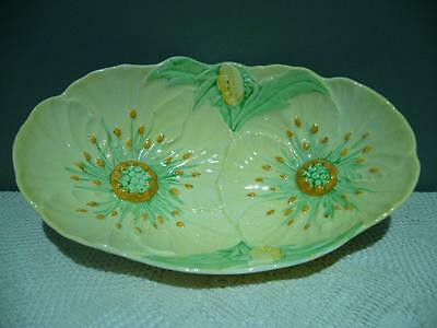 Vintage Carlton Ware Double Buttercup Serving Bowl - England - Very Good Cond