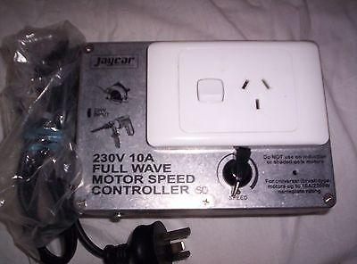 Power tool 10A Full Wave Mains Motor Controller, Control the Kick.