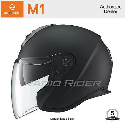 NEW Schuberth M1 Motorcycle Helmet | London Matte Black | L | Free Shipping