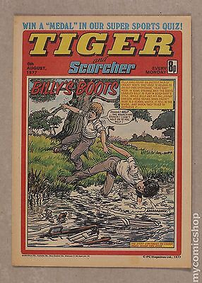 Tiger Tiger and Hurricane/Tiger and Jag/Tiger and Scorcher #770806 VF 8.0