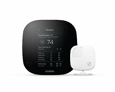 *NEW* ecobee3 Smarter Wi-Fi Thermostat with Remote Sensor, 2nd Generation