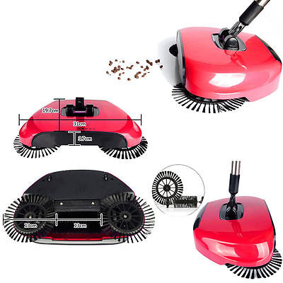 New Automatic Hand Push Sweeper Broom Household Cleaning Without Electricity FTS