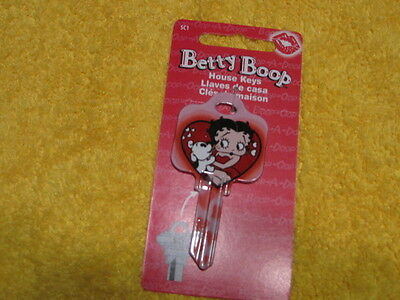 SC1 HOUSE KEY BLANK BETTY BOOP PUDGY PINK for SCHLAGE lock Made in The USA