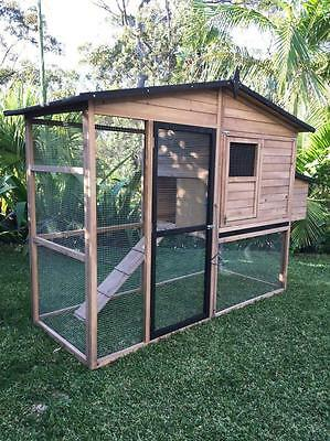 Chicken Coop Cat Enclosure Rabbit hutch pet house cage Large Somerzby Estate