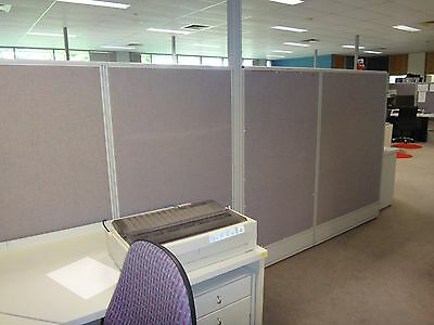 Office Partitions / Dividers / Various Heights / Fabric Pin Board - Great Condtn