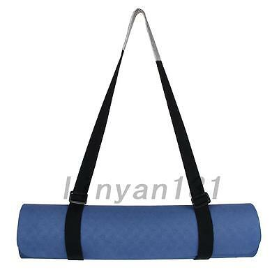 Creative Adjustable Yoga Mat Sling Carrier Shoulder Carry Strap Belt Cotton