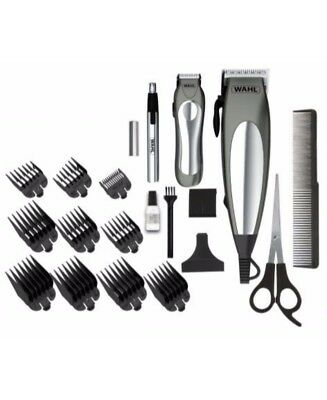 New Wahl Deluxe Groom Pro Gift Set Grey Wa79305 3612