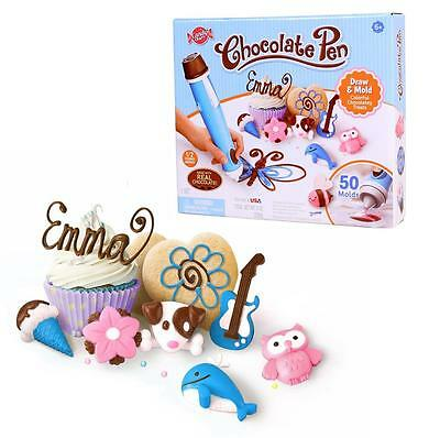 NEW Sky Rocket Candy Craft Chocolate Pen Pastry Cake Decorating Kids Kit Fun