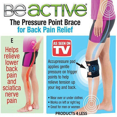 Unisex As Seen On TV Be Active Acupressure point Sciatic Nerve Leg Brace-back