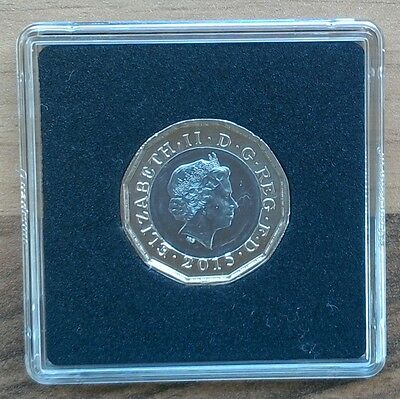 Rare £1 Coin - New Style 12 Sided One Pound 2015 Trial Piece