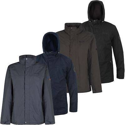 68% OFF Regatta Hesper Waterproof Insulated Mens Outdoor Hooded Fleece Jacket