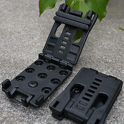 Outdoor K Sheath Scabbard Waist Clamp Belt Clip Travel Camping Hiking Portable