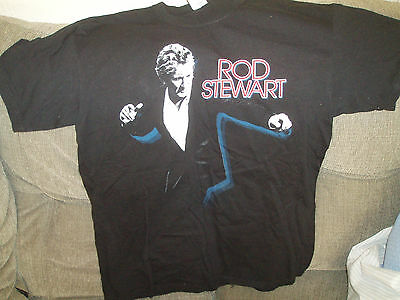 ROD STEWART - Men's T-Shirt Size L 2010 Live Tour T Shirt