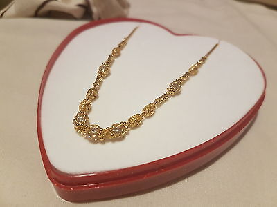 22ct Solid Indian Gold Necklace 10.3g (NEW)