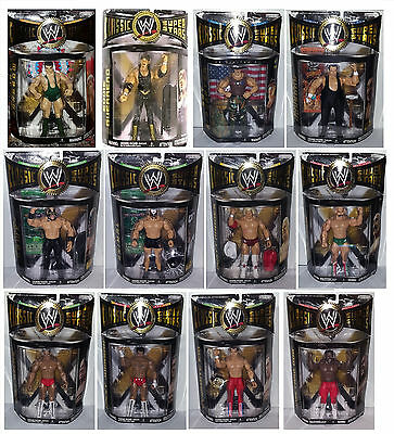 WWE Classic Superstars single pack MISB NUOVE Jakks action figure no Mattel NEW